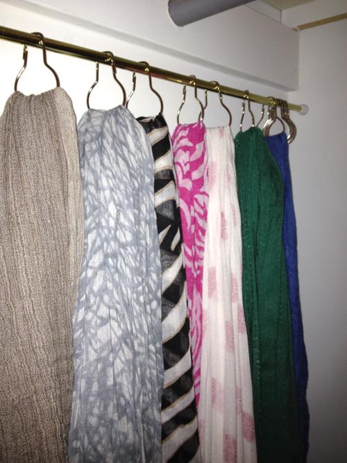 melaniehoo scarf organizer