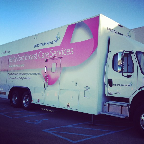 Betty Ford Breast Cancer Bus